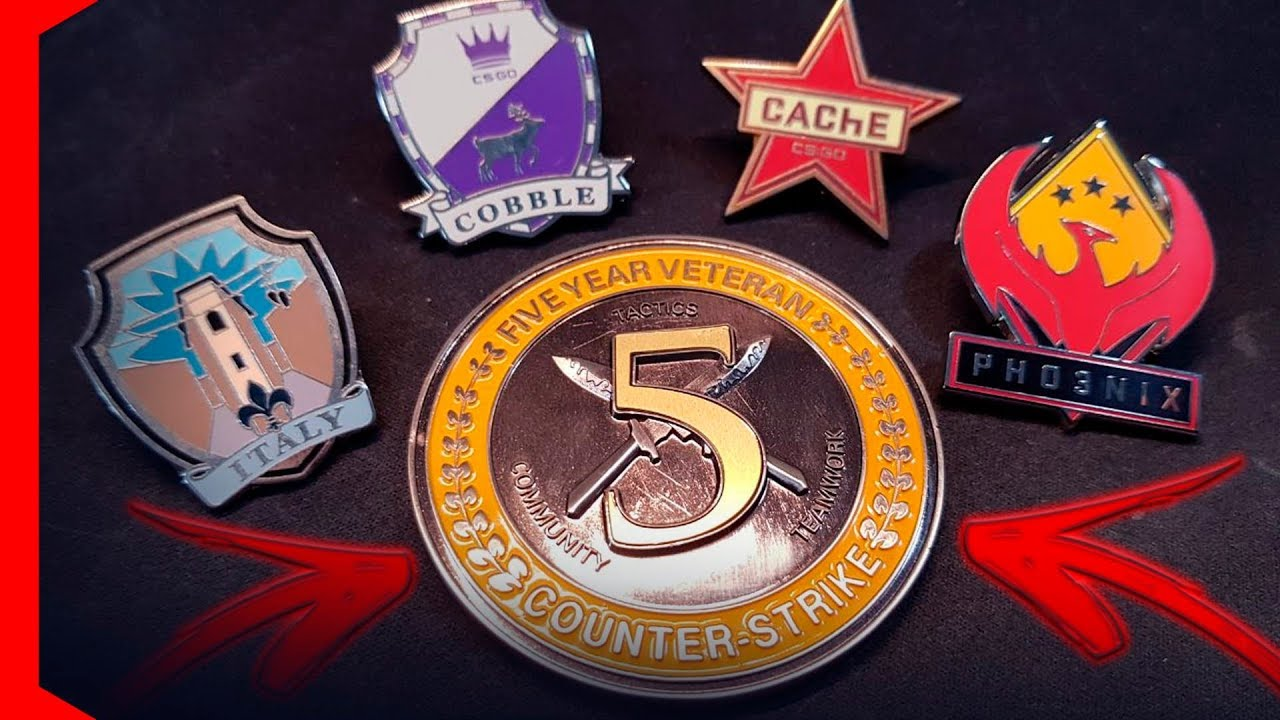 5 year veteran coin