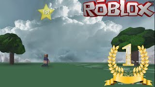 I GOT 1ST PLACE ON ROBLOX RUN IN ROBLOX!