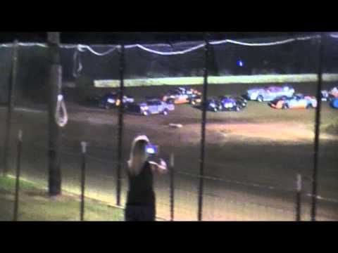 West Siloam Speedway 07-20-2013 GN 01w Pit Stands