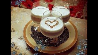 Молочный десерт с семенами Чиа (Диета Дюкана)