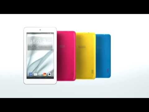 ALCATEL ONETOUCH POP 7. Enjoy the world in best colors.