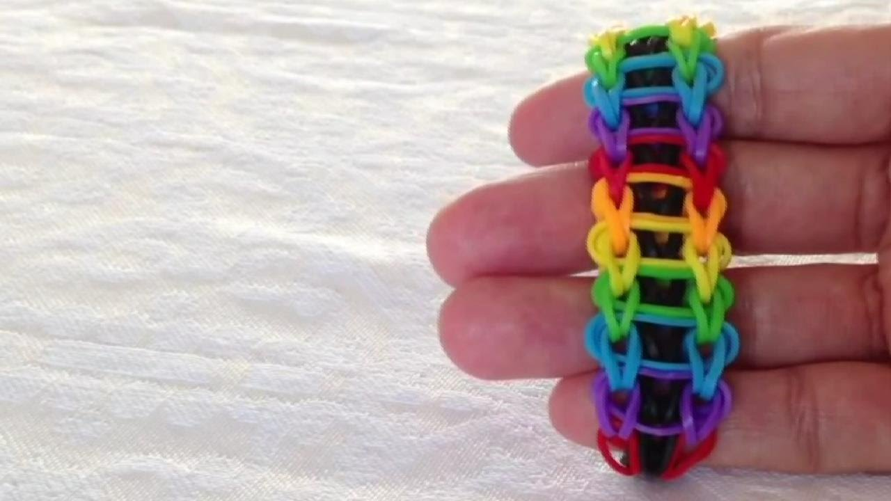 Смотреть плетение браслетов из резинок видео