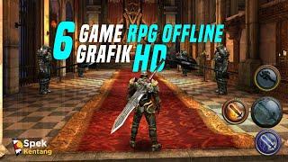 6 Game RPG Offline Grafik HD di Android 2020