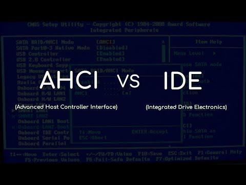 Режимы AHCI и IDE разница в скорости! HDD