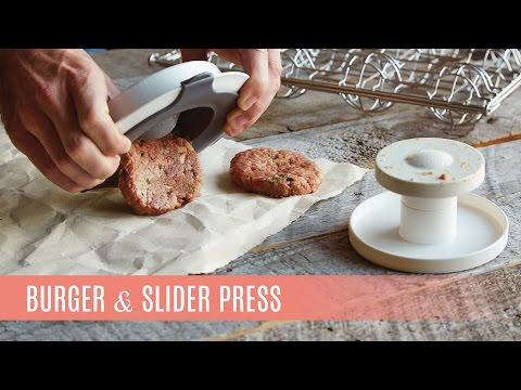 Burger & Slider Press | Pampered Chef