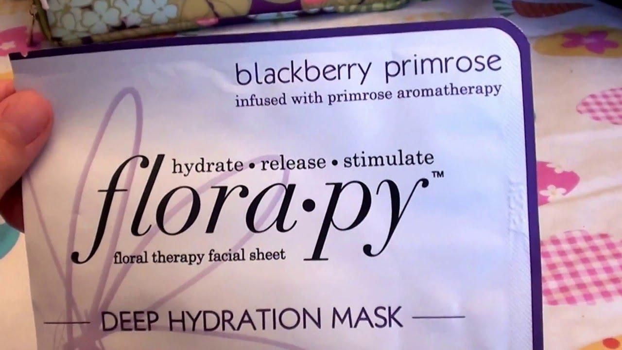 Florapy Deep Hydration Sheet Mask, Blackberry Primrose Clinique - Travel Set: Facial Soap 30ml + Lotion 3 60ml + DDMG 30ml + Serum 10ml + All About Eyes 7ml + Bag -5pcs+1bag