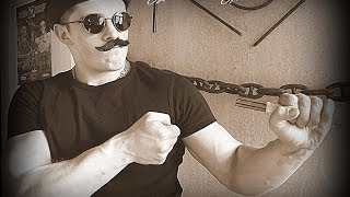 Виктор Блуд - Сгибание реверсом гвоздей 3х150*5мм