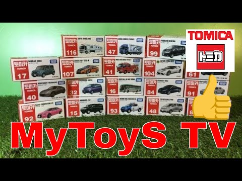 unboxing 14 x Tomica Korean Packing (00912 z)
