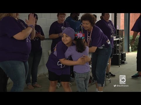 Gainesville Elementary School Hosts Fun Run For Student With Cancer