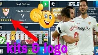 How to Create Sevilla FC 2018/19 Kits & Logo | Dream League Soccer 2018