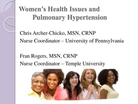 Women's Health Issues and PH