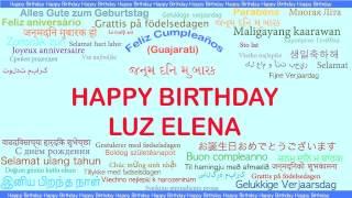 LuzElena   Languages Idiomas - Happy Birthday