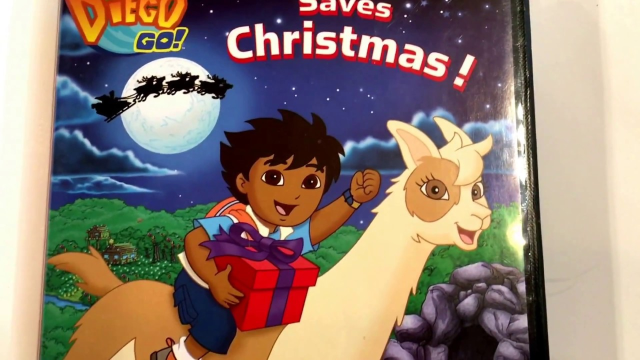 go diego go diego saves christmas nick jr animated