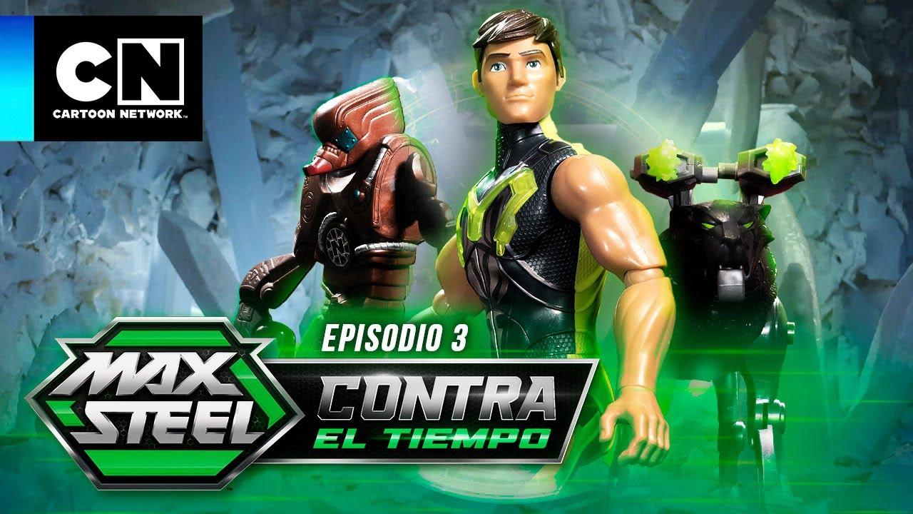 MAX STEEL: CONTRA EL TIEMPO   EL CENTRO DEL PLANETA - EPISODIO 3   Cartoon Network   ADS