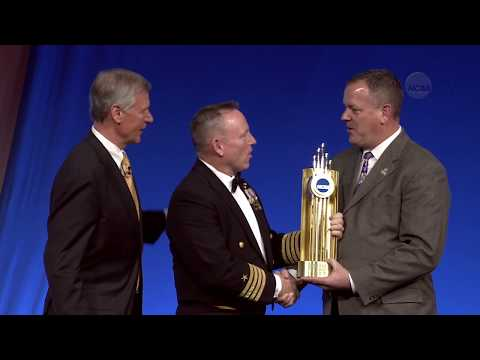 "Captain Barry ""Butch"" Wilmore 2018 NCAA Theodore Roosevelt Award speech"