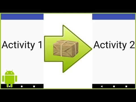 How to Open a New Activity and Pass Variables to It - Android Studio Tutorial