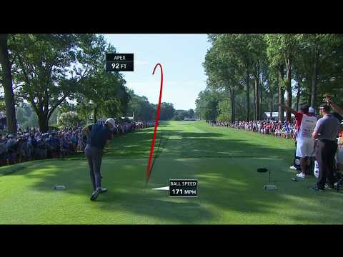 Jordan Spieth masterfully escapes trees at 2018 PGA Championship
