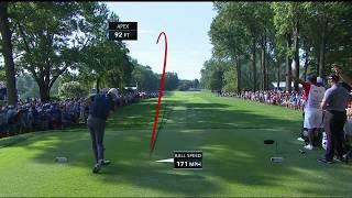 Jordan Spieth masterfully escapes trees at 2018 PGA Championship