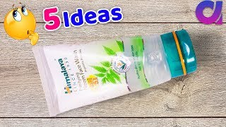 Best use of waste himalaya Face wash packet craft idea | Best Out of waste | Artkala 518