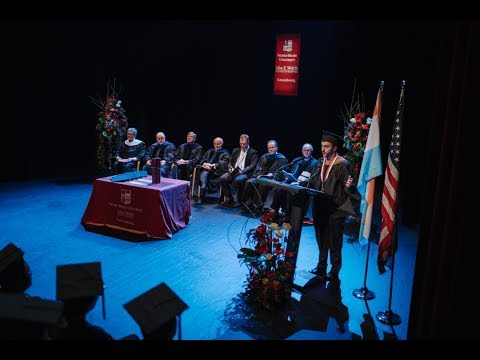 Sacred Heart University Graduation 2016 Full Ceremony