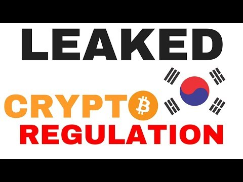 Leaked: South Korea Cryptocurrency Regulations