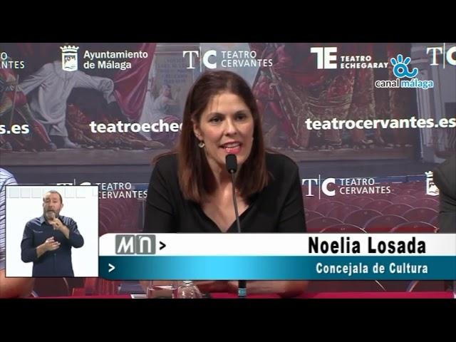Noelia Losada ha presentado el 33 Festival Internacional de Jazz del teatro Cervantes
