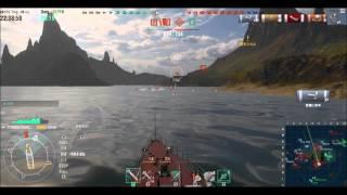 WoWs@駆逐艦グレミャーシチイで行くver1