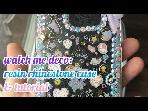 Watch Me Deco: Resin Rhinestone Case [+tutorial]
