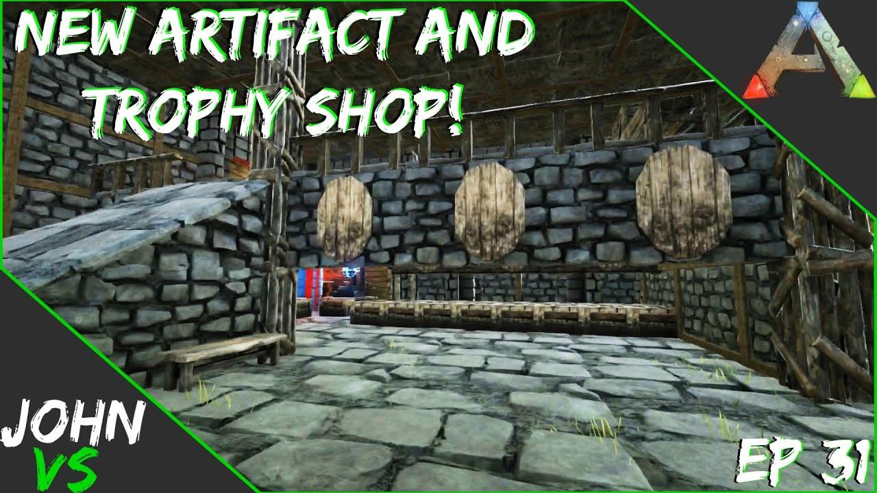 New Artifact Trophy Shop Ark Survival Evolved Ymcark