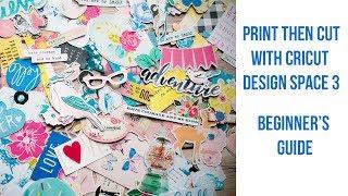 Cricut Print Then Cut - Design Space 3