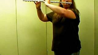 """Happy Birthday"" melody and rhythm variations, Jennifer Johnson Flute"