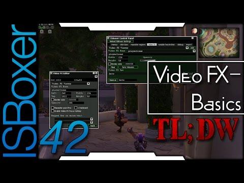 ISBoxer 42 — Video FX 01 — Basics [TL;DW]