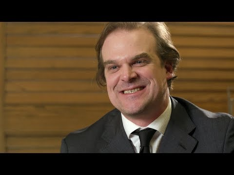 David Harbour Talks 'Stranger Things' Season 3 Plans - Dubai International Film Festival