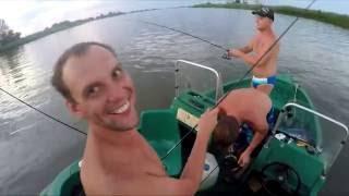 Рыбалка в Дельте Волги. Ловим троллингом. Рыбалка на сазана(Рыбалка в дельте Волги. www.станья.рф., 2016-08-26T14:29:18.000Z)
