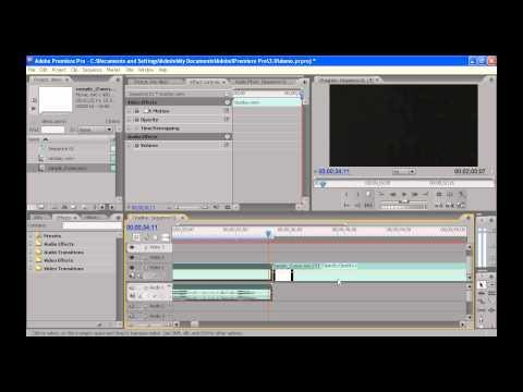 Intro to Adobe Premiere Cs3 (The Basics)