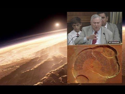 Congressman Asks NASA About an Ancient Mars Civilization!