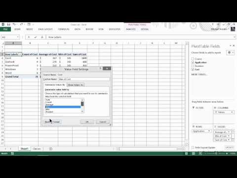 Excel for Business Tutorial | Gaining Product and Service Insights