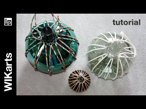 WIKarts Tutorial: Make Suspended Glass Fishing Floats & Gazing Globes