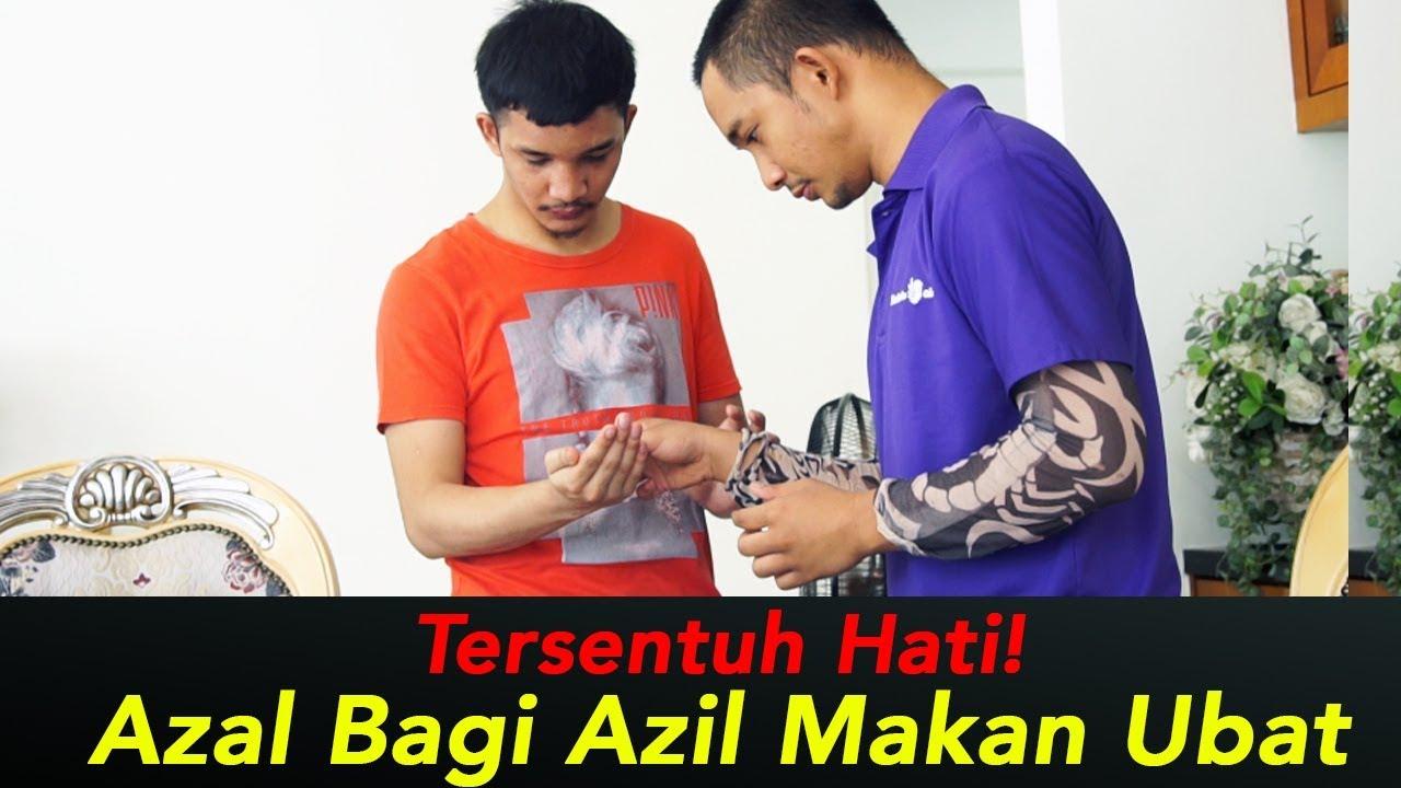 Download SAYUU HATI! AZAL Bagi Azil Makan Ubat 😔 #3