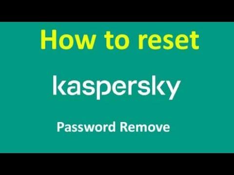 🆕kaspersky Password Reset