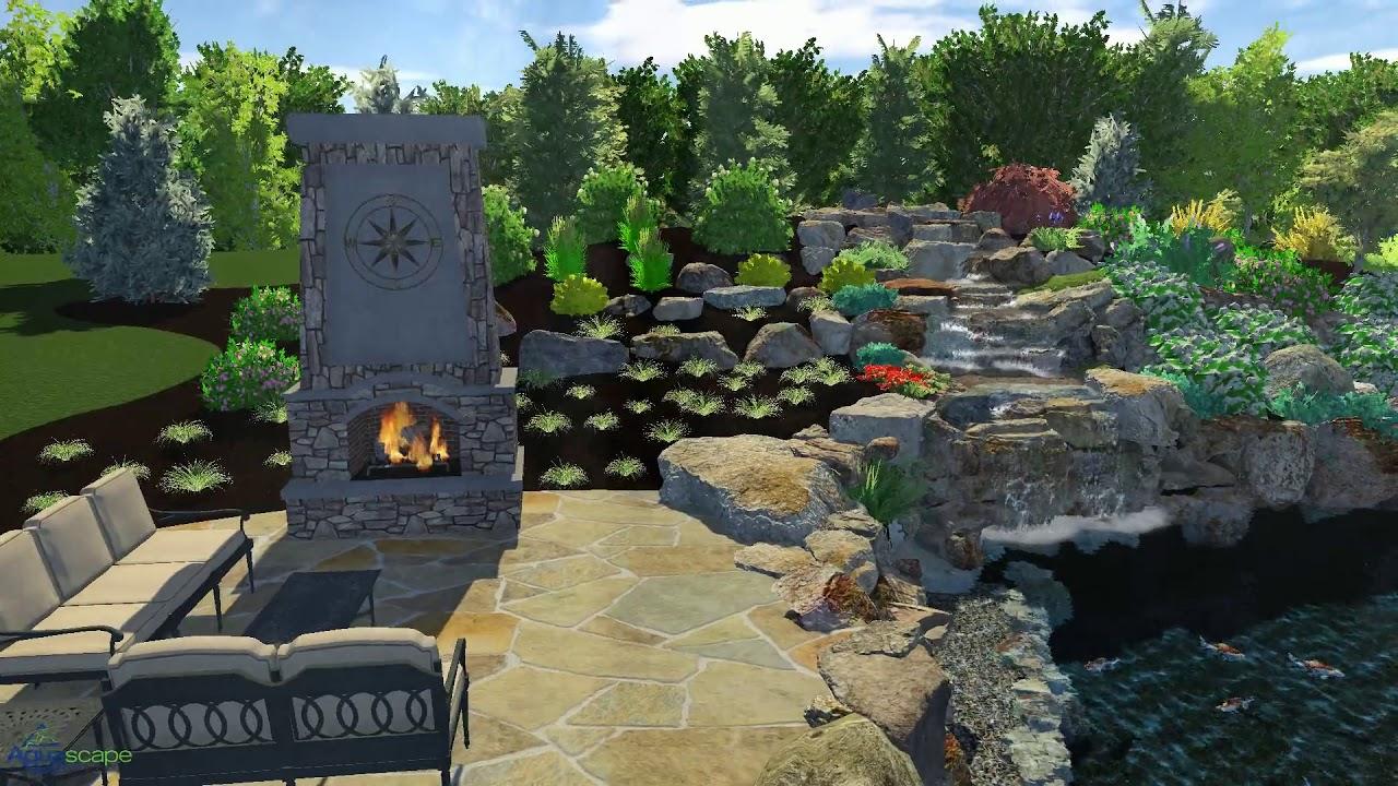 Aquascape Swim Pond Youtube