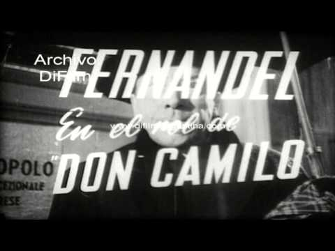 "DiFilm - Trailer del film ""Le retour de Don Camillo"" 1953"