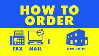株式会社テルミック ご注文方法 (telmic) HowTo Order thumbnail