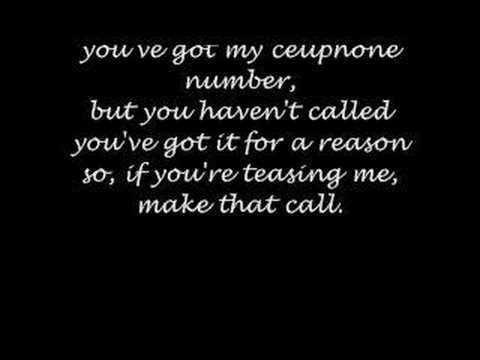 Cell Phone Number - Plain White T's mp3