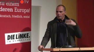 Yanis Varoufakis (DiEM25.org): Europa vom Kopf auf die Füße stellen!