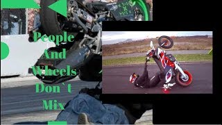 People And Wheels Don`t Mix    Funniest Fails    2019