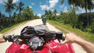 TROPICAL QUAD BIKING!  - Tree House Day 5