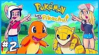 Pokemon Let's Go Pikachu Let's Play [EP. 2] - Mt. Moon & Misty Gym Battle!