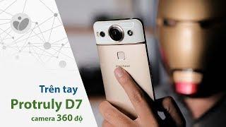 Trên tay Protruly D7: điện thoại camera 360 độ, cảm biến nhiệt độ, chip 10 nhân, giá 6 triệu