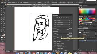 How to turn a hand drawn image into an Adobe Illustrator Artwork